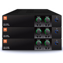 JBL CSA240Z 2-Channel 40W 1U Commercial DriveCore Amplifier - Built-in 70/100V Fanless