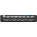 Black Box JPM806A-R2 CAT5e Feed-Through Patch Panel Shielded 48-Port