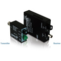 Transition Networks Analog CCTV Just Convert It Composite BNC 75 Ohm to Multimode SC 1Km- Tx