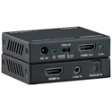 KanexPro HAECOAX4 HDMI 2.0 Audio Embedder 18Gbps HDCP 2.2 4K 60Hz