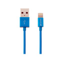 Kanex K8PIN4FBL Charge and Sync Cable with Lightning Connector 4FT (Blue)