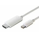Kanex KMDPHD4K6FW Mini DisplayPort to HDMI Cable with Audio - 6.6Ft. (White)