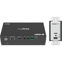 KanexPro WP-EXTHDBTKIT Single HDMI 2.0 Wallplate Transmitter over HDBaseT 70M (230 Feet) with IR and POC Receiver Set