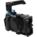 Kondor Blue KB-BMPCC6KP-Bk Blackmagic Pocket 6K Pro Cage with Top Handle - Black