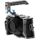 Kondor Blue KB-BMPCC6KP Blackmagic Pocket 6K Pro Cage with Top Handle - Space Gray