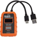 Klein Tools ET920 USB-A and USB-C Digital Meter - 3 to 20V DC