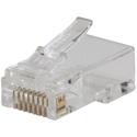 Klein Tools VDV826-728 Pass-Thru Modular Data Plug - CAT5E - 10 Pack