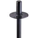 K&M 19665 Flange Adapter - Black