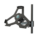 K&M 19724 iPad Air Mic Stand and Light Stand Mount