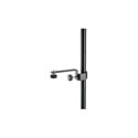 K&M 238 Microphone Holder - Black