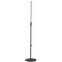 K&M 260/1 Cast-Iron Mic Stand w/Anti-Vibration Rubber Insert Black