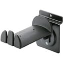 K&M 44195 Headphone Holder - Slat Wall Mount