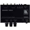 Kramer 102MX 2 Channel Stereo Audio Mixer