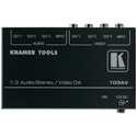 Kramer 103AV 1:3 Composite Video & Stereo Audio Distribution Amplifier