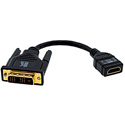 Kramer ADC-DM/HF DVI-D Male to HDMI Female Adapter Cable