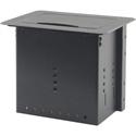 Kramer TBUS-5XL Table Mount Modular Multi-Connection Solution - Black