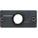 Kramer WCP Wall Plate Insert - Cable Pass Through - Black