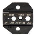 Kings KTH-5001 Crimp Die for KTH-5000 (Belden 1277/1278/1279P/1279R/1280/179DT)