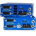 KVM-Tec 6023 Masterflex DVI USB KVM Over Dual Fiber Extender - Set - LC Duplex Multimode Fiber