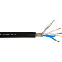 Canare L-4E6S Star-Quad Microphone Cable 1000ft Roll - Black