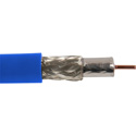 Canare L-5CFB 75 Ohm HD-SDI Coax Cable RG-6 Type 984ft Roll Blue