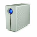 LaCie LAC9000317 8TB 2big Quadra USB 3.0 RAID 7200 RPM Storage
