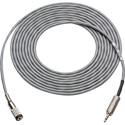 Laird LANC-MF-100 Canare L-2B2AT 2.5mm TRS Male to 2.5mm TRS Female Camera Control Extension Cable - 100 Foot