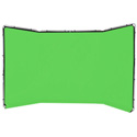 Lastolite LL LB7622 Panoramic Background 13 Foot (4M) - Chromakey Green