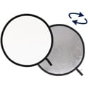 Lastolite Collapsible 38in Silver and White  Reflector
