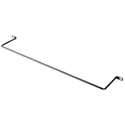 Middle Atlantic LBP-4R90 90 Deg. Offset Lacing Bar w/ 4 Inch Round Rod - 10 Pack
