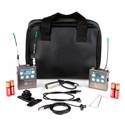 Lectrosonics ZS-LRLT-A1 Complete L-Series Camera Mount Lavalier Mic Kit Band A1 470.100 - 537.575 MHz