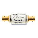 LEN L3GGI01 3G HD SDI Galvanic video ground path isolator - In Line / Tubular Model