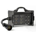 Lex BNZJ3-Z1 Bento Box 20 Amp Breakout to Edison & Stage Pin Receptacles with Tail Input Power Distribution Box