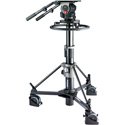 Libec QD-10PD Pedestal System with QH1 Head and P1000 Pedestal - 88.0lb Payload