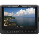 Lilliput 665-S-P 7 Inch 16:9 LED Field Monitor with 3G-SDI HDMI YPbPr and component video
