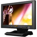 Lilliput FA1013/S 10.1 inch 16:9 LED monitor with 3G-SDI HDMI component and composite video Black Magic compatable