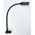 LittLite 12XR-4-LED 12 Inch Gooseneck LED with 4-PIN Right Angle XLR Connector