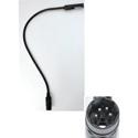 Littlite 24X-4-LED-180 24 Inch LED Gooseneck with 4-PIN XLR Connector (Midas Venice)