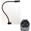Littlite 24XR-4-LED 24 Inch LED Gooseneck with 4-PIN Right Angle XLR Connector