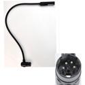 Littlite 24XR-4-LED-MR 24 Inch 4 Pin XLR Gooseneck LED Console Light for Midas Pro2 Left Side