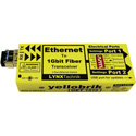 Yellobrik O ET 1510 MM - Fiber to Ethernet Transceiver - Multimode - Fiber LC Connectors