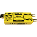 LYNX Technik Yellobrik OTR 1810 MM 3Gbit Fiber Optic/ SDI Tranceiver - Multimode
