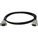 Connectronics LOPROVGA-MM-6 Miniature Low Profile VGA Cable DSUB 15HD Male-Male - 6 Foot