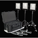 Litepanels 903-6003 1x1 LS Traveler Trio Plus Kit (US Version)