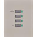 Leprecon 90-03-6152 APC-3P 3 Button Preset with Off DMX In/Out RJ45