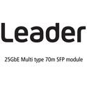 Leader LC2146 25GbE Multi type 70m SFP Module for LV5600/LV7600/LT4610/LT4611