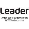 Leader LV5300-SER12 Anton Bauer Battery Gold Mount for LV5300 (hardware)