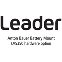 Leader LV5350-SER12 Anton Bauer Battery Gold Mount for LV5350 for LV5350 (hardware)