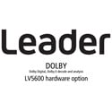 Leader LV5600-SER04 DOLBY - Dolby Digital Dolby E Decode and Analysis (hardware)