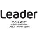 Leader LV5600-SER25 FOCUS ASSIST - High Sensitivity Focus Detection Display for LV5600 (software)